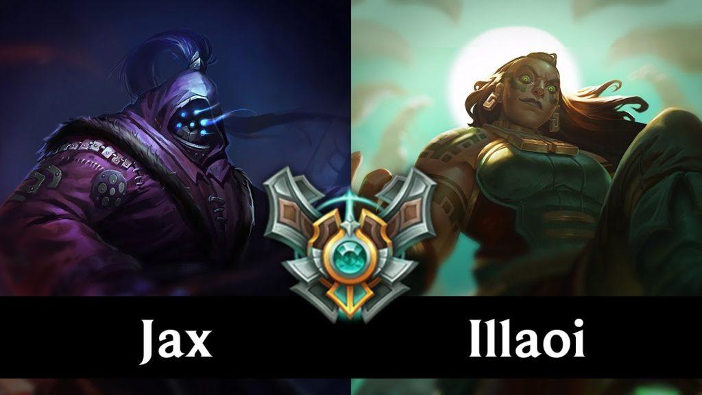 Jax vs Illaoi