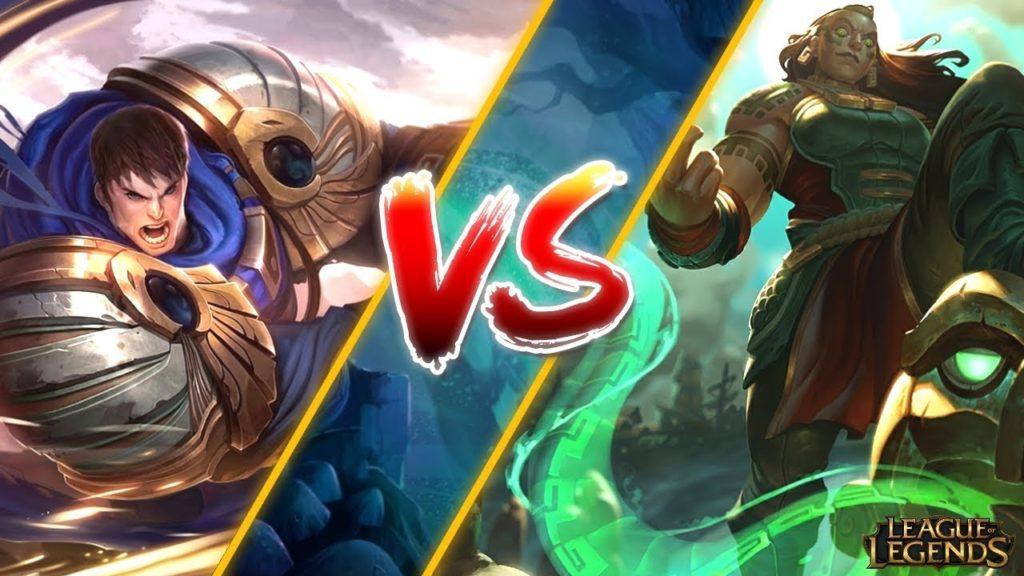 Garen vs Illaoi