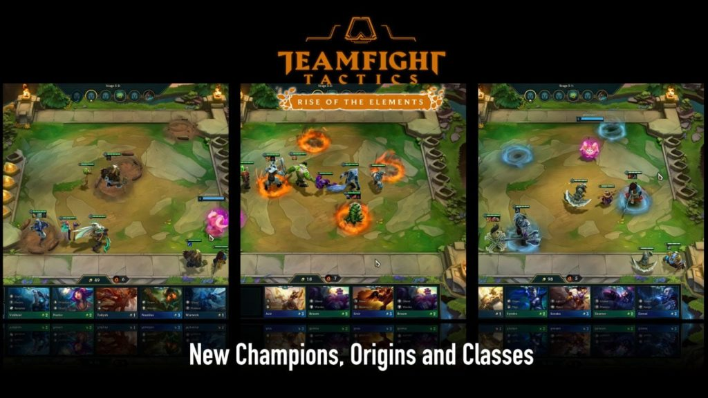 Play Different Classes TFT