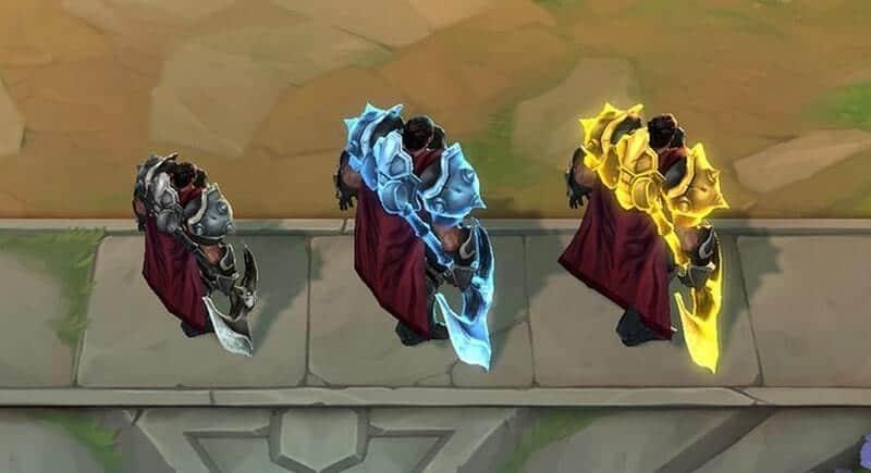 Darius 1-star, 2-star, and 3-star - Teamfight Tactics.